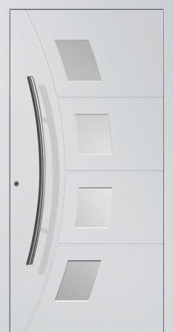 Hliníkové dvere AD11