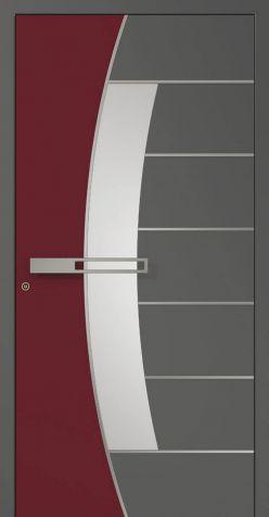 Hliníkové dvere AD15