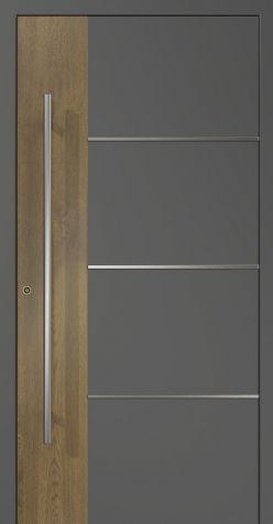 Hliníkové dvere AD24