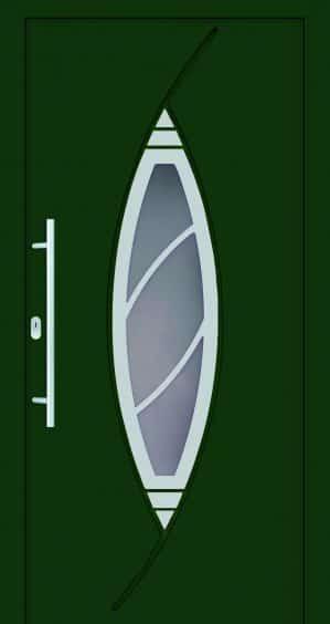 Plastové dvere Doris