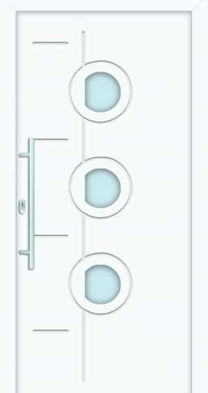 Plastové dvere Ornela