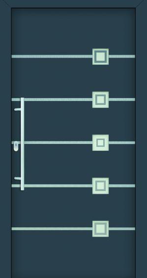 Plastové dvere Sofie