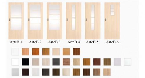 Interiérové dvere Arte B