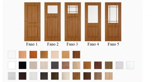 Interiérové dvere Fano