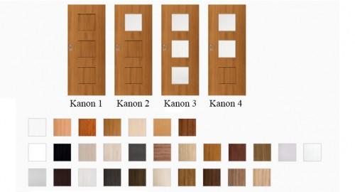 Interiérové dvere Kanon