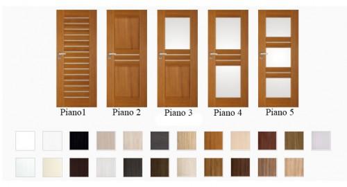 Interiérové dvere Piano