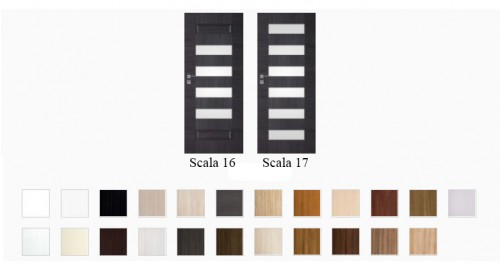 Interiérové dvere Scala