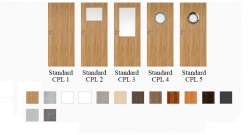 Interiérové dvere Standard CPL