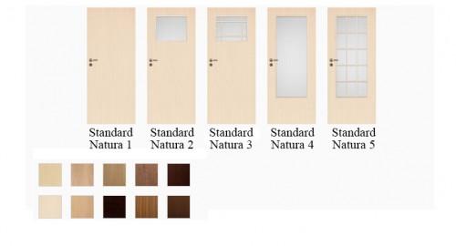 Interiérové dvere Standard Natura