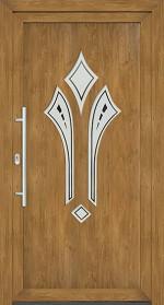 Plastové dvere Klara