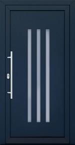 Plastové dvere Sandra